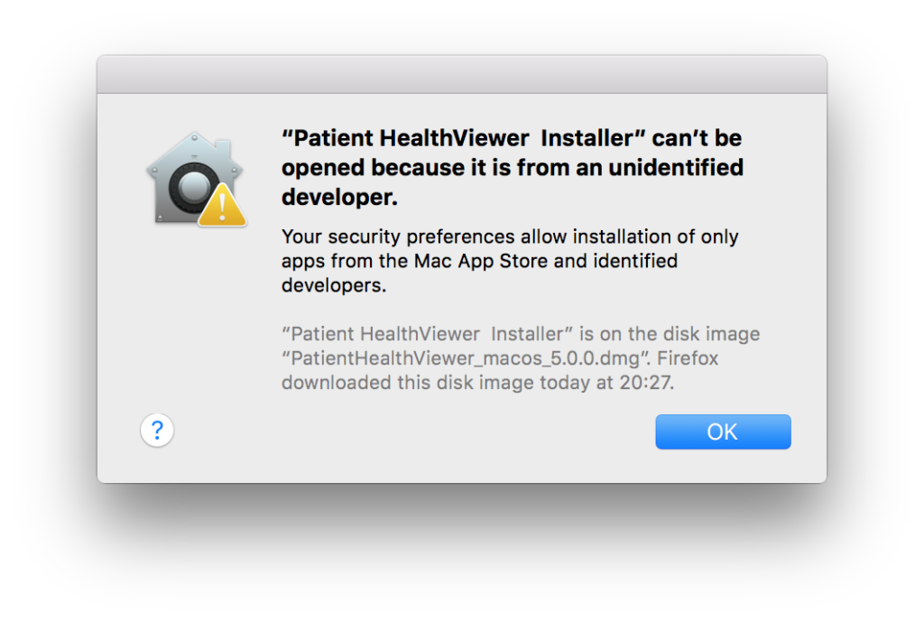 My-o-my, unidentified developer. Seriously, if I'd be a less savvy OSX user - this would have been the end. In this case, I right click the installer and manage to get past this screen.
